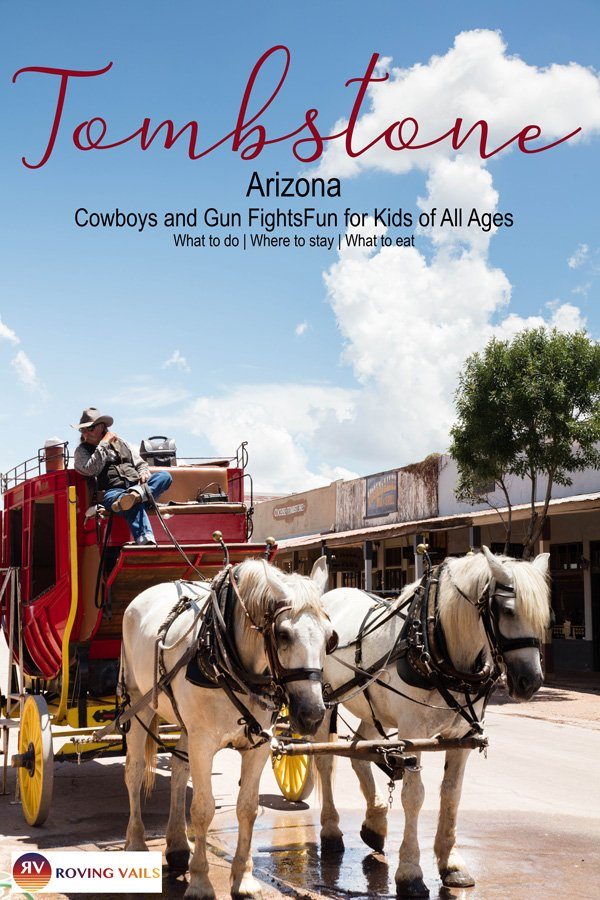Cowboys, gunfights, silver mines and ghosts in Tombstone, Arizona!