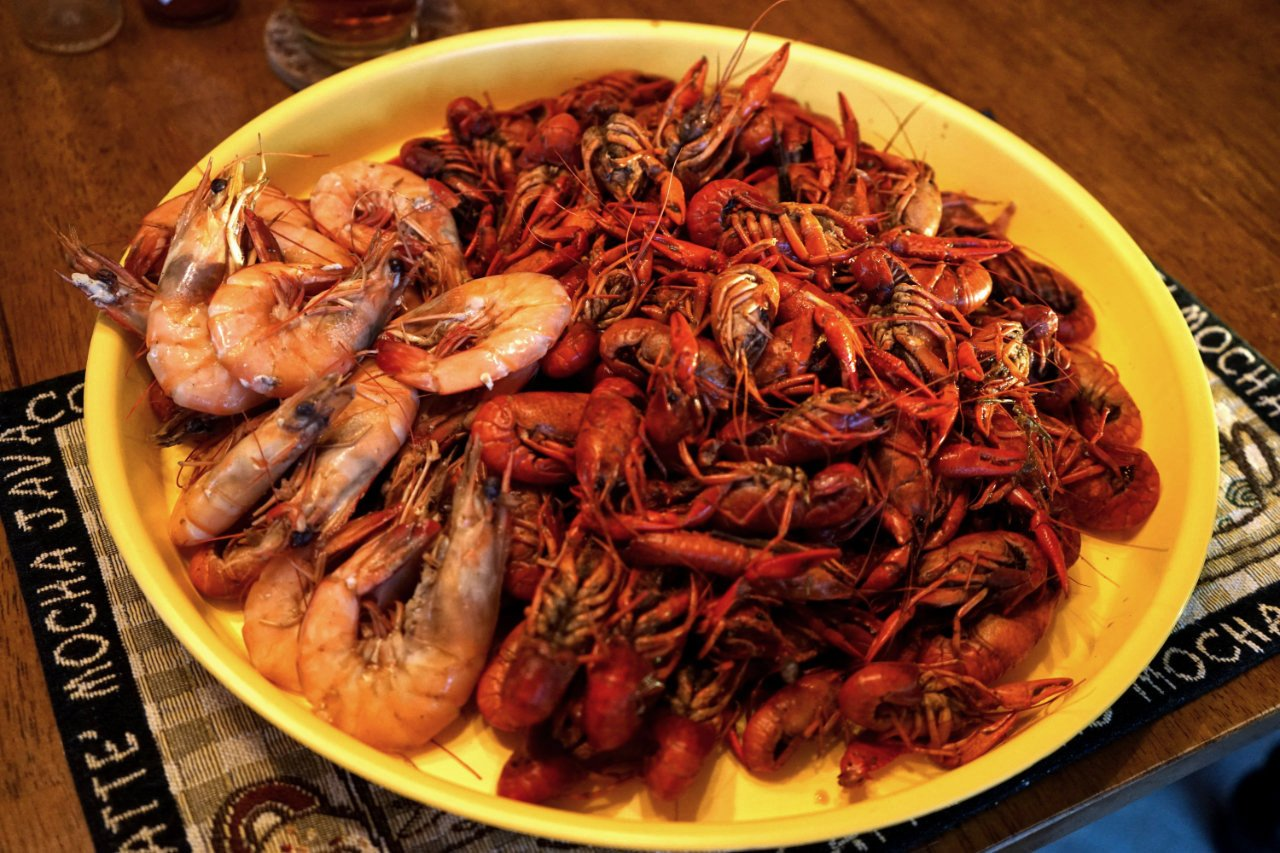 Great Foods of the USA - Louisiana - Vrawfish