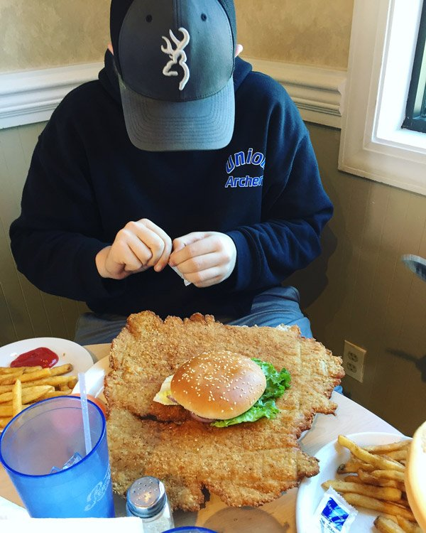 Best Food in USA - Indiana - Breaded Tenderloin